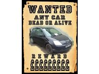 Scrapping my car van scrap a car collection 7 days cash for scrap salvage running or non runner