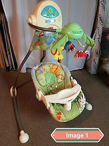 """Rainforest"" Baby Swing"