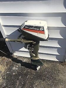 Johnson Outboard Motor (for boat).