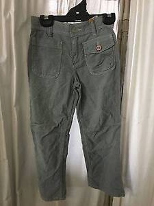 BIG BY FIONA SCANLAN grey corduroy pants Preston Darebin Area Preview