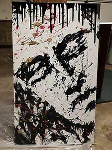 2 tableaux uniques même artiste - toile
