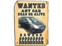 Wanted scrap cars & vans minimum paid £50 up to £200