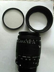 Canon zoom sigma zoom lens with Canon digital mount