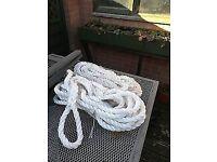 15 Metre boat rope x2