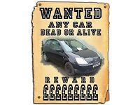 SCRAP CARS WANTED FOR CASH!!
