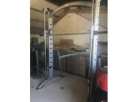 Matrix G3 Series PL62 Smith Machine - Commercial Weights Gym Plate Loaded Squat Rack Power Cage