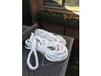 15 metre boat rope