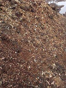 fumier, composte, pour  jardin, pelouse, engrais, organique