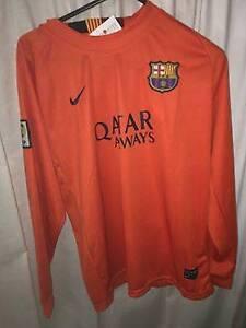 FC BARCELONA away Messi long sleeve jersey Preston Darebin Area Preview