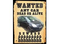 your car-mot faliure-unwanted-unloved-scrap-best prices payed