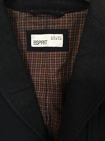 Espirit Size 8 Trendy black wool jacket