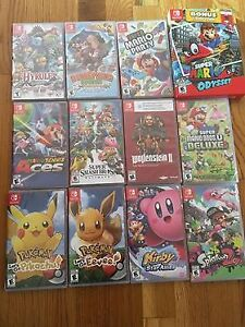 12 Brand New Switch games