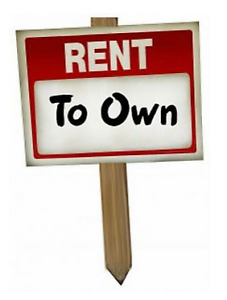 Rent To Own! You Can Own it, We Can Help!