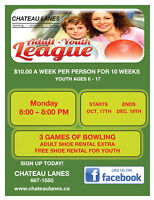 ADULT/YOUTH BOWLING LEAGUE AT CHATEAU LANES