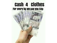 cash4clothes FREE collection from your door