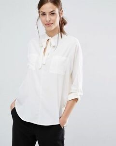 ABERCROMBIE & FITCH TIE-NECK TOP-NEW!