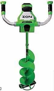 BRAND NEW- ION ICE AUGER - Lithium Ion - 8 inch drill -