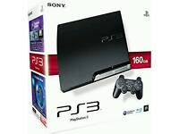 Ps3 console with 3 games+1 pad