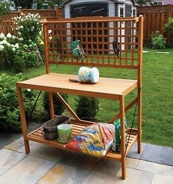 How to Build Your Own Garden Potting Bench