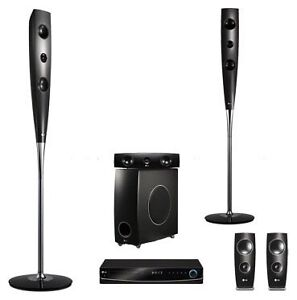 LG DVD player and surroundsound