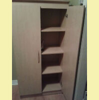 DRESSER/ WARDROBE with 3 large shelves for all types of storage