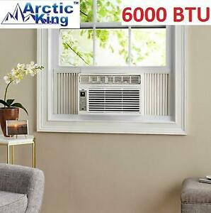 USED ARCTIC KING AIR CONDITIONER 817986023387 256698333 6,000 BTU WINDOW MOUNT WITH REMOTE