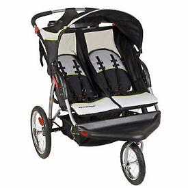 BABYTREND 3wheeler jogger double buggy.
