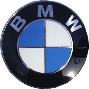BMW new 82mm roundel badge for hood  trunk- fits to 2005 BMW