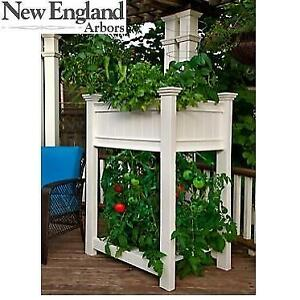 NEW ENGLAND ARBORS RAISED PLANTER VA68217` 250194659 TOMATO URBANSCAPE