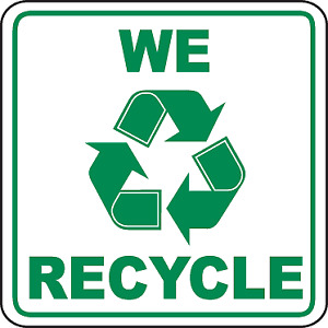 **WE RECYCLE** Call Us First! (Same Day Pickup)
