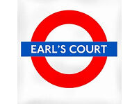 1 bed FLAT WANTED to rent. EARLS COURT SW5 or NOTTING HILL GATE. Excellent refs. Around £300pw?