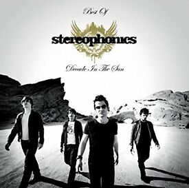 STEREOPHONICS THE BEST OF DECADE IN THE SUN NEW