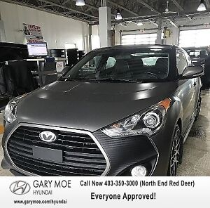 2013 Hyundai Veloster Turbo W/ BACK UP CAM/ SENSOR, LEATHER INTE