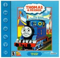 THOMAS TRAIN & FRIENDS - THE GREAT ADVENTURE PC COMPUTER GAME
