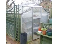 Greenhouse 8ft 6in x 6ft 3ins