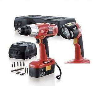 CRAFTSMAN LIMITED EDITION 3/8 IN 19.2V DRILL / DRIVER AND WORKLI