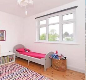IKEA TROGEN extendable bed with mattress