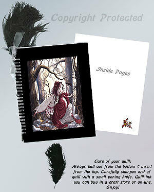 Nene Thomas Always Journal Quill Fairy Diary Memento Faery Blank Book BOS Witch
