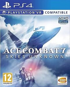 WANTED Ace Combat 7 PS4