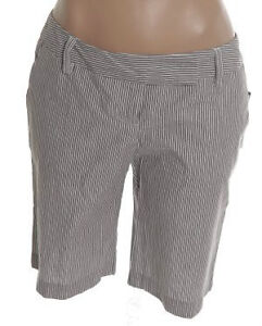 Pinstriped Dressier Shorts - Sizes 5 and 7 - NEW