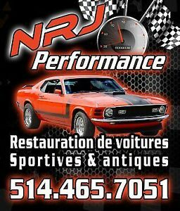 NRJ Performance Restauration&Reconstruction de voiture antiques