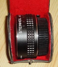 Steinheil Pentax PK K Bayonet Fit Auto 2x Tele Teleconverter Lens