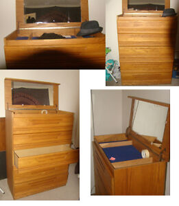 5 drawer open top /Large/ well made dresser