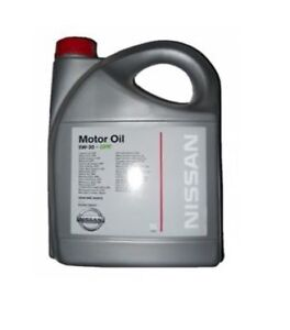 genuine nissan dpf oil 5w30 5 5w 30 litres ltr all diesel. Black Bedroom Furniture Sets. Home Design Ideas