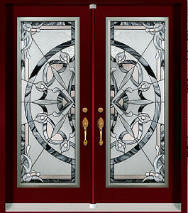System Door Entry Front Double  contemporary or traditional Desi