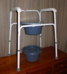 Adjustable Over Toilet Seat and Commode Chair Carindale Brisbane South East Preview