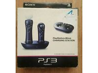 PS3 move charding station NEW x2