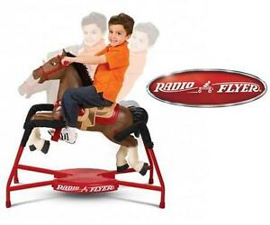 NEW RADIO FLYER INTERACTIVE HORSE Riding Horse TOY walk, trot, gallop KID'S RIDE-ONS 109026817