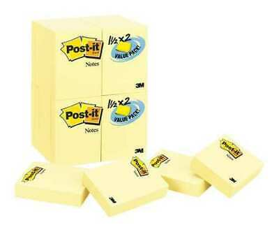 Post-it 70005017911 Sticky Notes1-12x2 In.yellowpk24