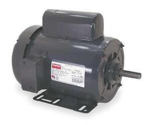 DAYTON 6K409 Electric Motor, 1 HP, 1450, 110/220,